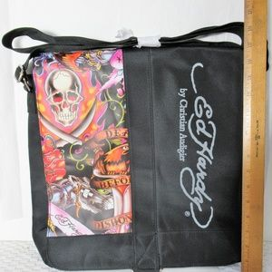 40971b958a Ed Hardy Large Laptop Tote   Messenger bag